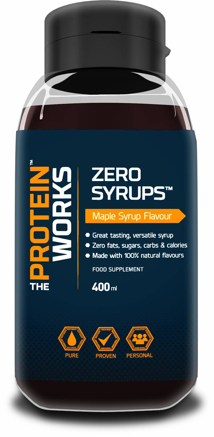 ZERO SYRUPS from THE PROTEIN WORKS™ CALORIE FREE SUGAR ...