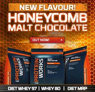 New Honeycomb Malt Chocolate Flavour