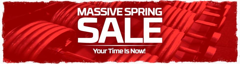 Massive Spring Sale