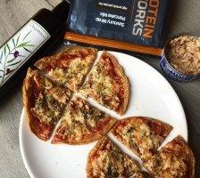 Tuna & Cheese Protein Pizza Recipe