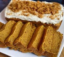 Vanilla Vegan Protein Loaf Cake