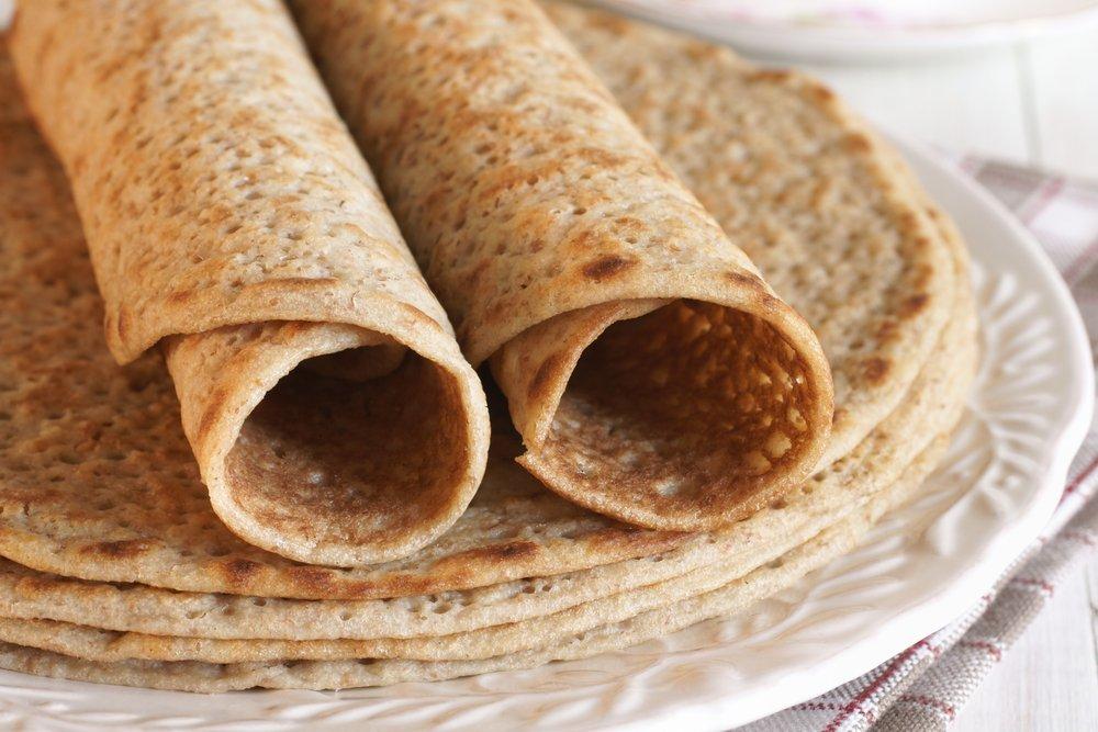 Savoury Protein Pancakes