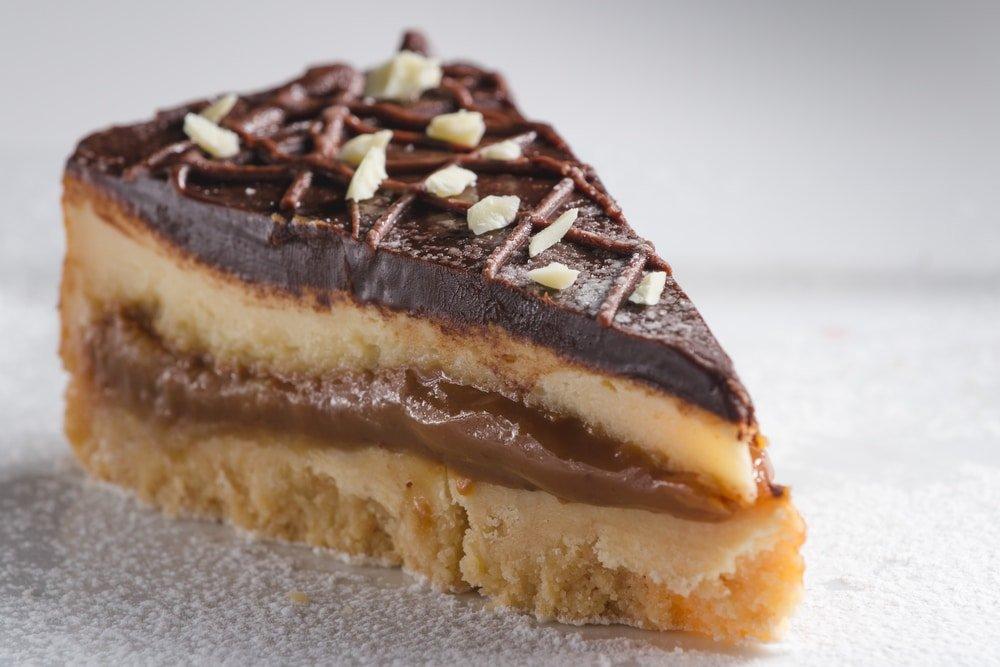 Vegan Millionaire Cheesecake