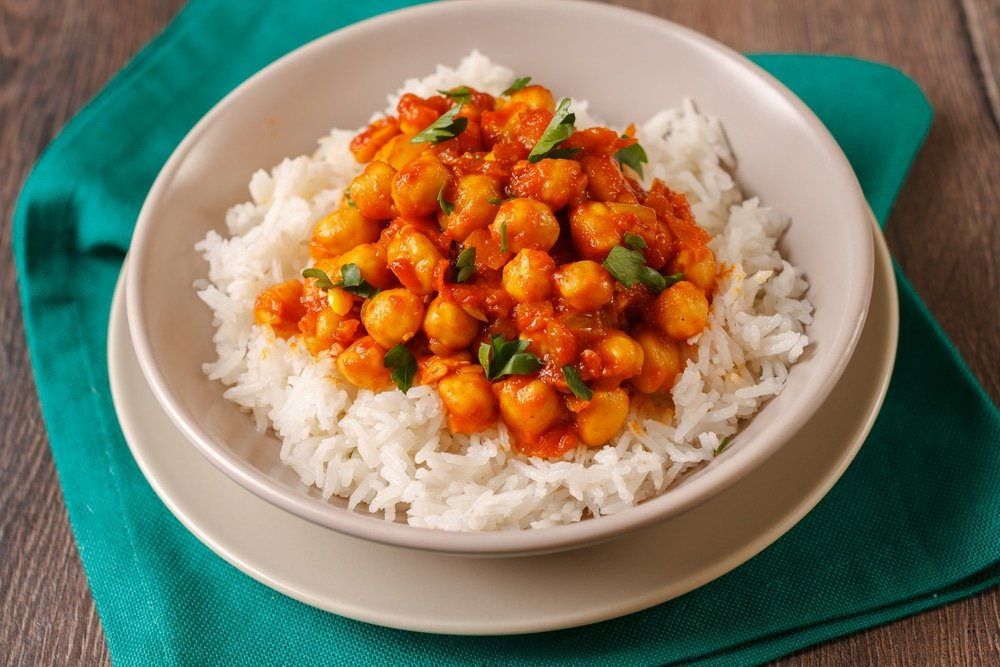 Coconut And Chickpea Curry Recipe