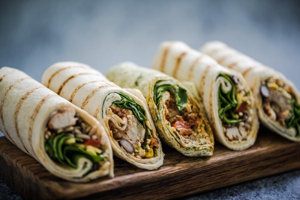Mediterranean Falafel Wraps