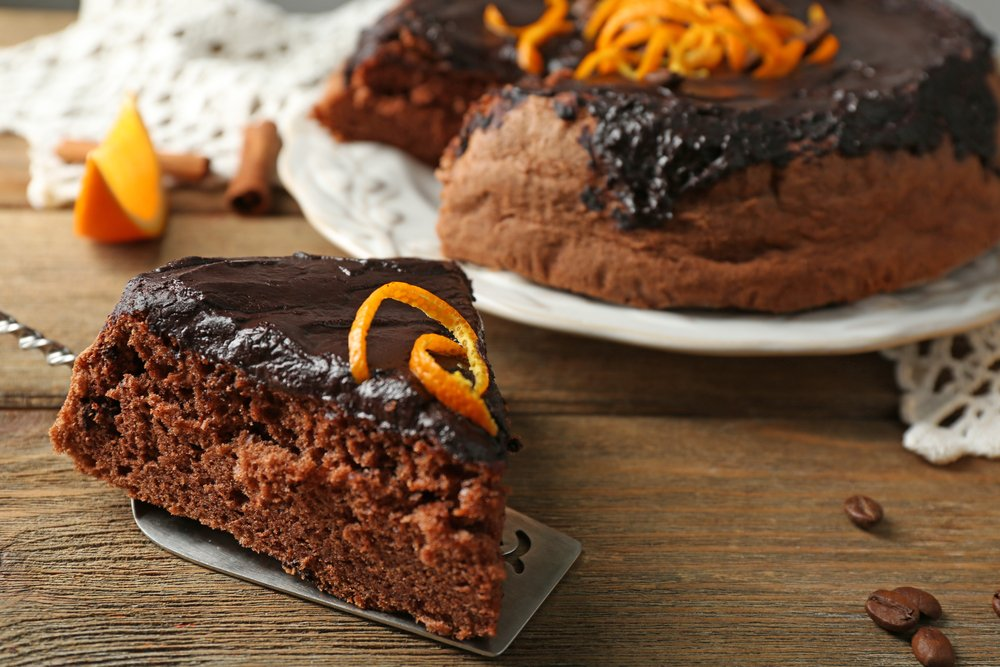 Choc Orange Protein Cake Recipe