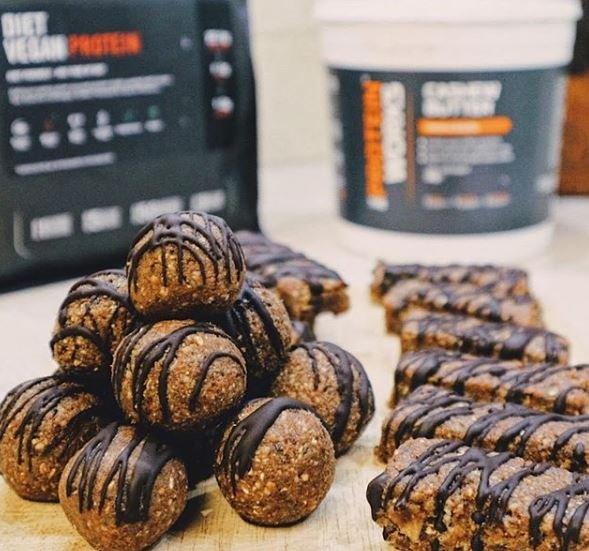 High Protein Vegan Energy Bites Recipe