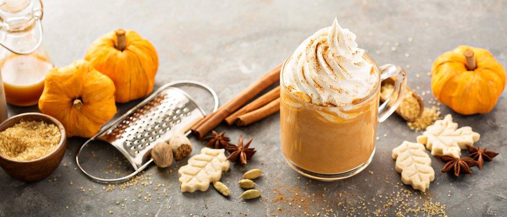 High-Protein Pumpkin Spice Frappe