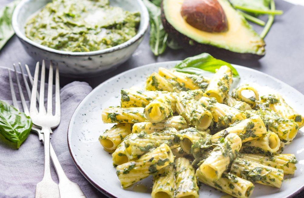 Almond Butter and Avocado Pesto