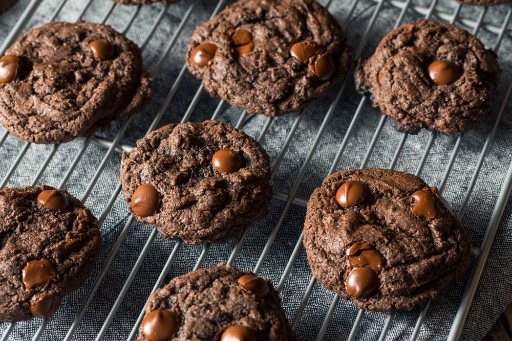 Chocolate and Peanut Butter Protein Cookies